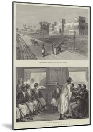 Sketches in Zanzibar--Mounted Giclee Print