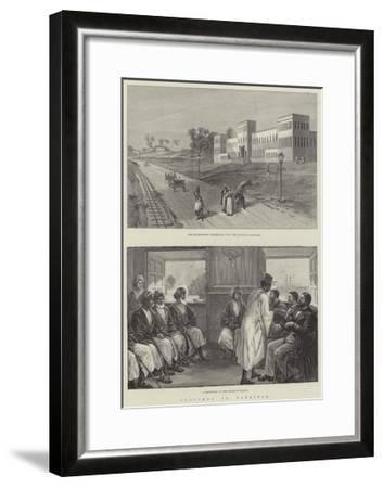 Sketches in Zanzibar--Framed Giclee Print
