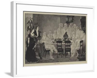 A Ghostly Festival--Framed Giclee Print