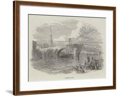 The Brigs of Ayr--Framed Giclee Print