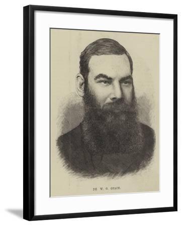 Dr W G Grace--Framed Giclee Print
