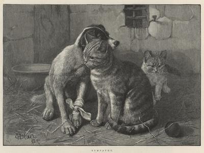 Sympathy--Framed Giclee Print