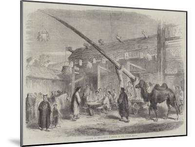 Teahouse at Pekin--Mounted Giclee Print