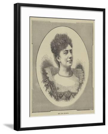 Miss Rose Leclercq--Framed Giclee Print