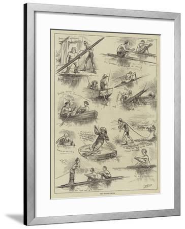 The Boating Fever--Framed Giclee Print