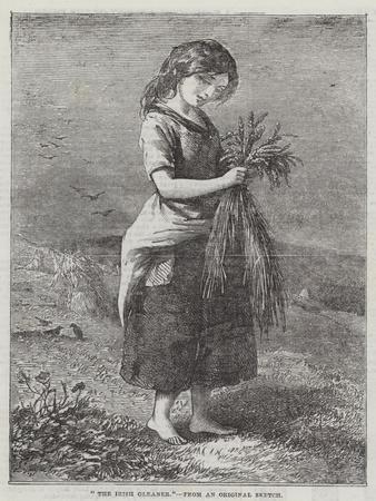 The Irish Gleaner--Framed Giclee Print