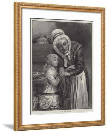 The Morning Prayer--Framed Giclee Print