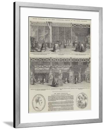 The Great Exhibition--Framed Giclee Print