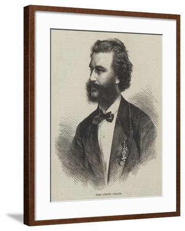 Herr Johann Strauss--Framed Giclee Print