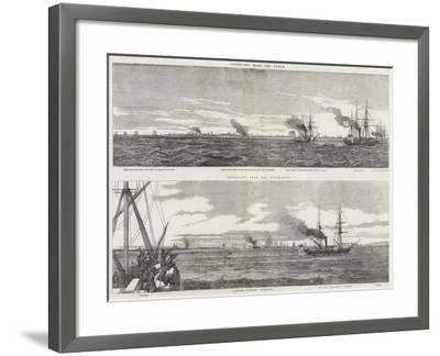 Views of Cronstadt--Framed Giclee Print