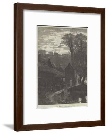 In the Gloaming--Framed Giclee Print