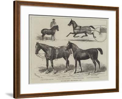 The Horse Show--Framed Giclee Print