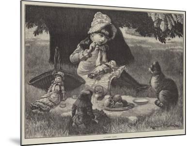 A Garden Party--Mounted Giclee Print
