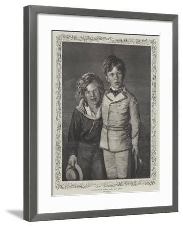 Our Boys--Framed Giclee Print