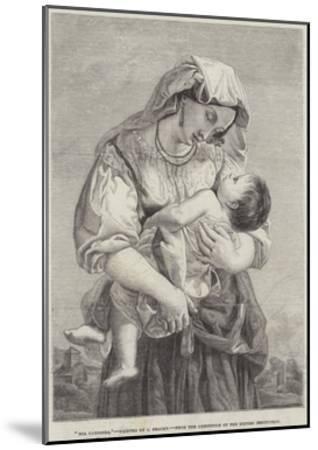 Mia Carissima--Mounted Giclee Print