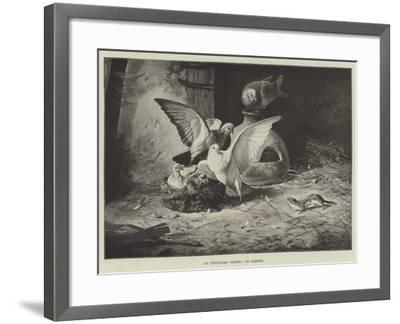 An Unwelcome Visitor--Framed Giclee Print