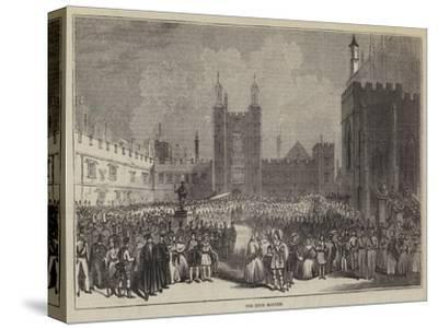The Eton Montem--Stretched Canvas Print