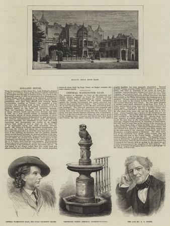 Holland House--Framed Giclee Print