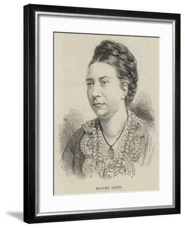 Madame Patey--Framed Giclee Print