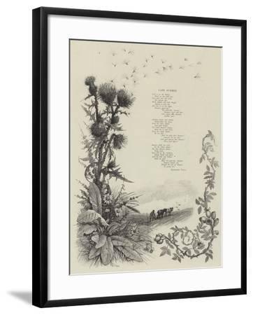 Late Summer--Framed Giclee Print