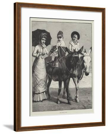 The Morning Ride--Framed Giclee Print