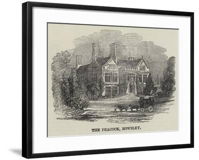 The Peacock, Rowsley--Framed Giclee Print