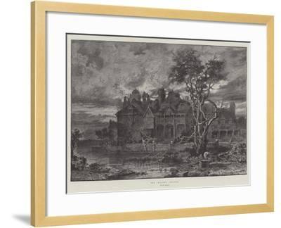 The Moated Grange--Framed Giclee Print