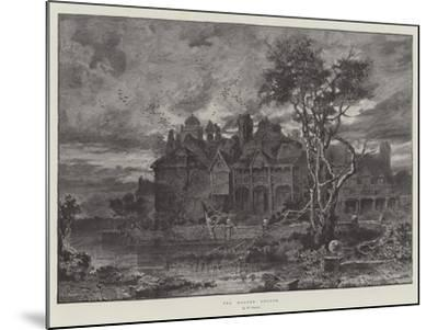 The Moated Grange--Mounted Giclee Print