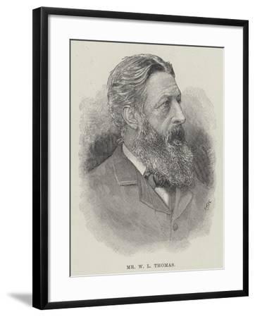 Mr W L Thomas--Framed Giclee Print