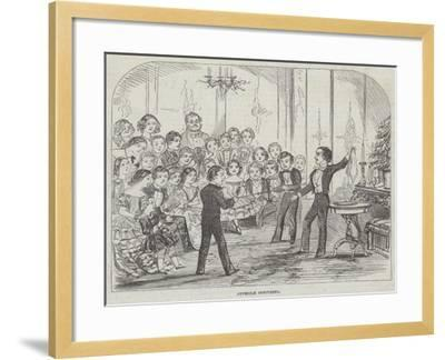 Juvenile Conjuring--Framed Giclee Print