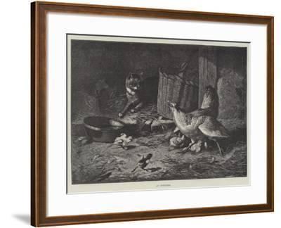 An Intruder--Framed Giclee Print