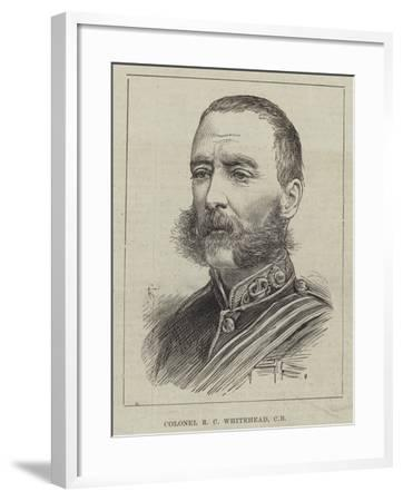 Colonel R C Whitehead--Framed Giclee Print