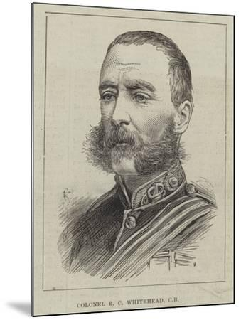 Colonel R C Whitehead--Mounted Giclee Print
