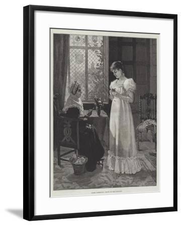 Under Correction--Framed Giclee Print