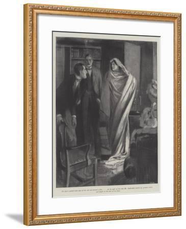 The Two Sophias--Framed Giclee Print