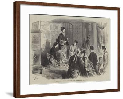The Japanese Women in the Late Paris International Exhibition--Framed Giclee Print