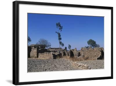 Debre Damo Monastery in Aksum, Ethiopia, Tigray, 6th Century--Framed Giclee Print
