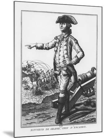 François-Joseph Paul, Comte De Grasse--Mounted Giclee Print