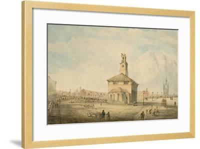 The Cattle Market, Newcastle Upon Tyne--Framed Giclee Print