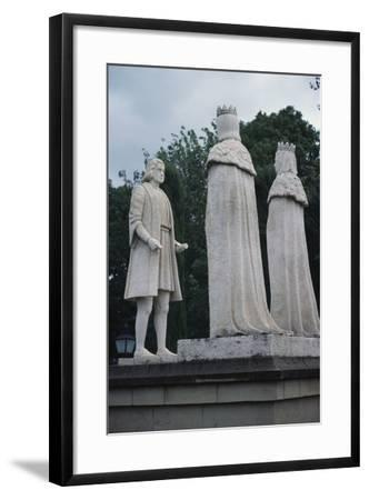 Monument to Christopher Columbus, Cordoba, Andalusia, Spain--Framed Giclee Print