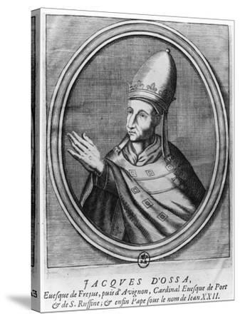 Pope John XXII--Stretched Canvas Print