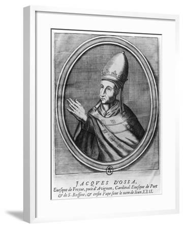 Pope John XXII--Framed Giclee Print