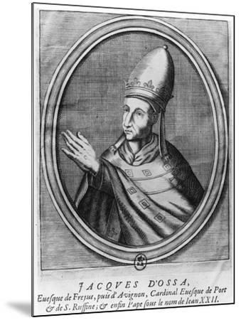 Pope John XXII--Mounted Giclee Print