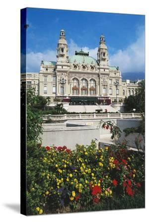 Monte Carlo Casino, 1858-1880, Principality of Monaco, 19th Century--Stretched Canvas Print