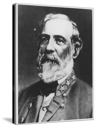General Lee--Stretched Canvas Print