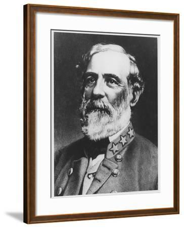 General Lee--Framed Giclee Print