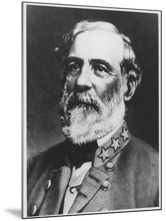 General Lee--Mounted Giclee Print