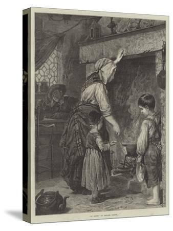 La Soupe--Stretched Canvas Print