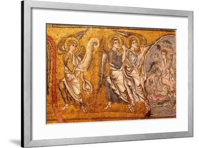 The Sea Gave Up its Dead, Last Judgment--Framed Giclee Print