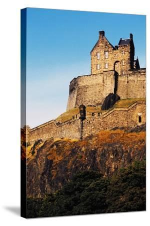 Edinburgh Castle, Scotland, United Kingdom, 12th-16th Century--Stretched Canvas Print